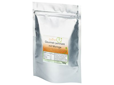 Gourmet BIO Leinmehl mit Moringa, 750 g