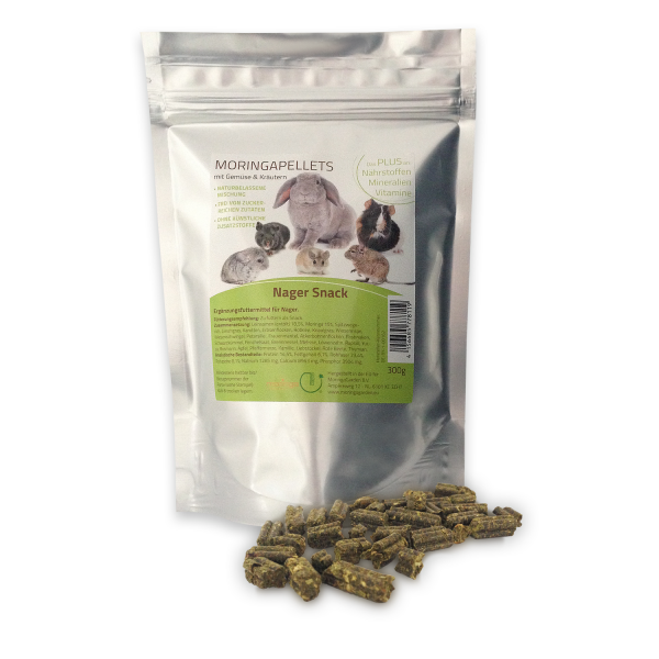 Moringa Pellets - Nager Snack
