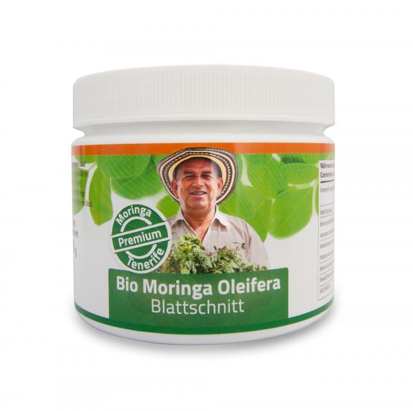 Premium: feinster Bio Moringa Blattschnitt