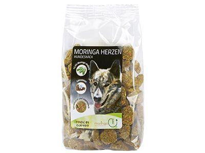 """Moringa Herzen für Hunde: """" getreidefrei und vegetarisch"""""""