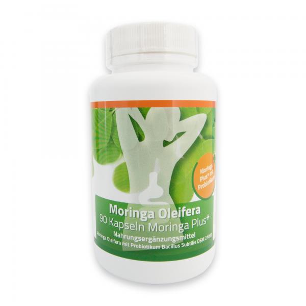 1 x Moringa Plus Capsules (sufficient for 1,5 - 2 months)